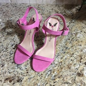 Penny Loves Kenny Shoes - Pink high hills